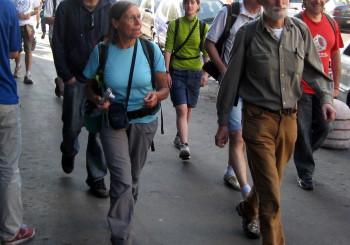 """La partenza di """"Cammina cammina"""""""
