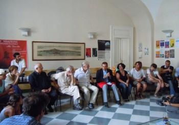 L'incontro dei camminanti con Luigi De Magistris