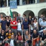 La partenza da Genova: Piazza della Commenda del Pré