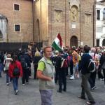 Incontro con i pellegrini alla Basilica del Santo di Padova