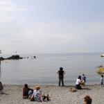 Sulla spiaggia di Boccadasse
