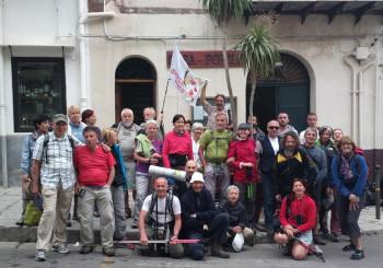 Da Piana degli albanesi a Ficuzza, la foto della partenza: seconda tappa.