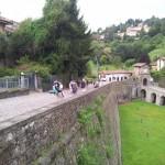 Dalla porta san Lorenzo in direzione Valverde