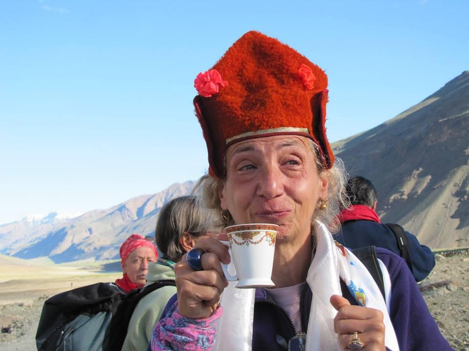 Tina Imbriano nello Zanksar