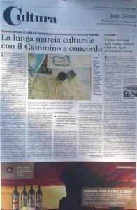 Unione Sarda 24.5.2015